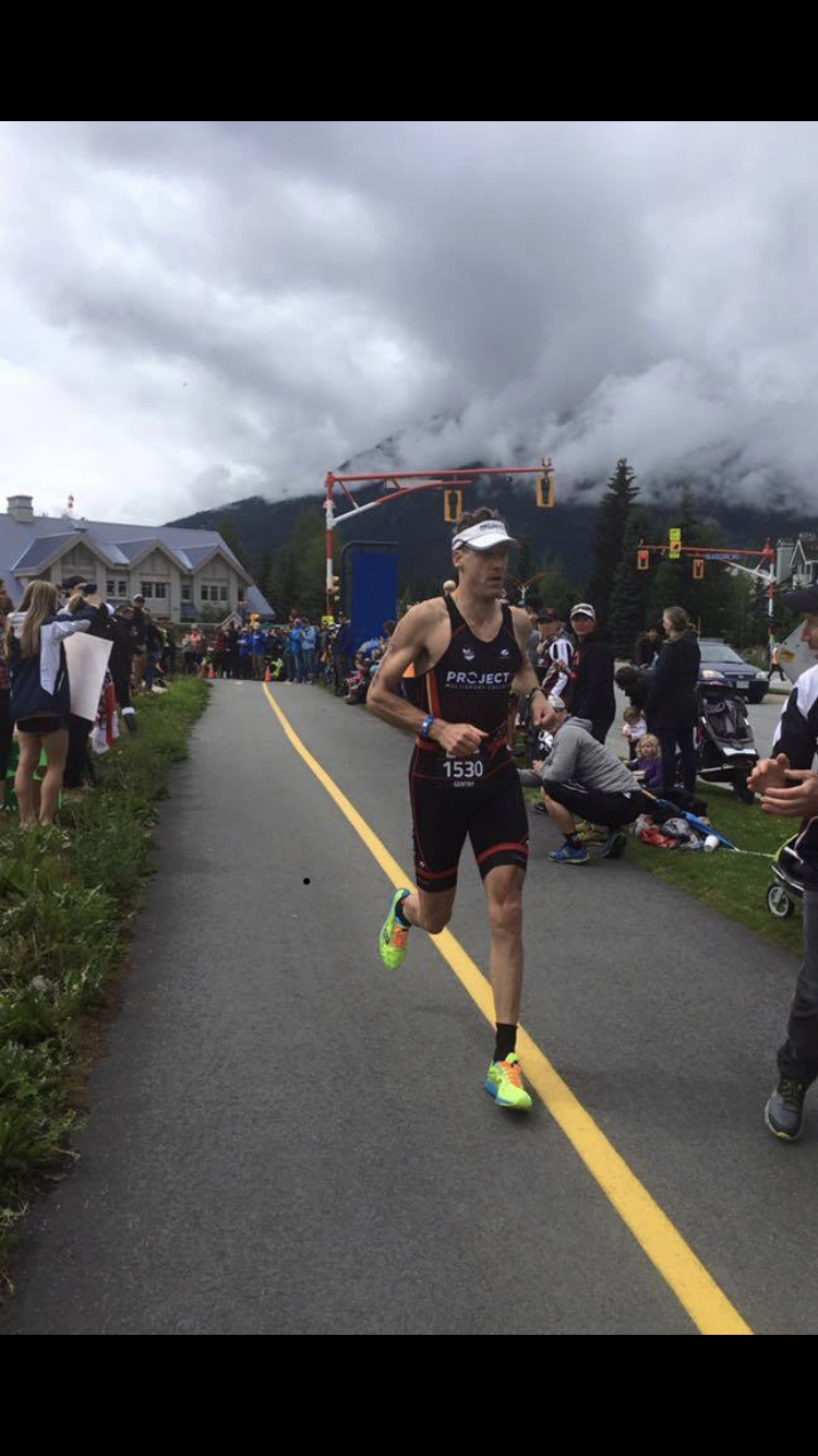 Dr Gentry during Ironman Whistler